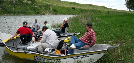 Bow River Hookers will handle all aspects of the trip with courteous professionalism and complete attention to detail.