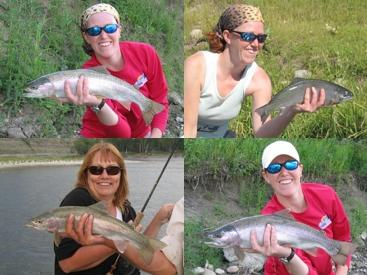 Gals Day on the Bow